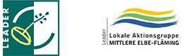 Logo Lokale Aktionsgruppe Mittlere Elbe - Fläming